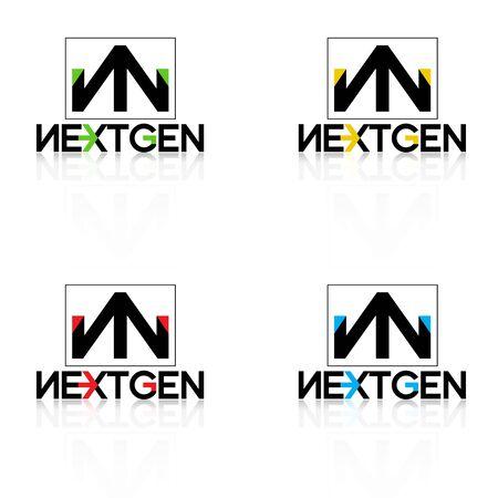gen: logo nextgen black