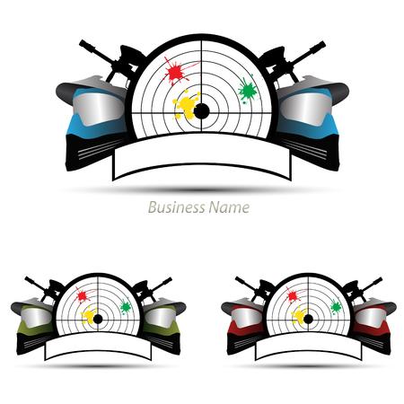 logo marketing: logo paintball