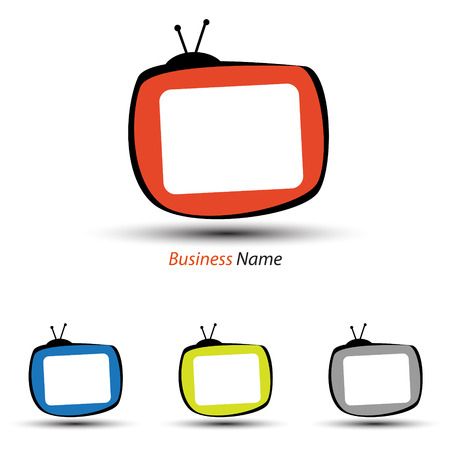 tv: logo tv Illustration