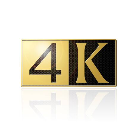 logo 4K white