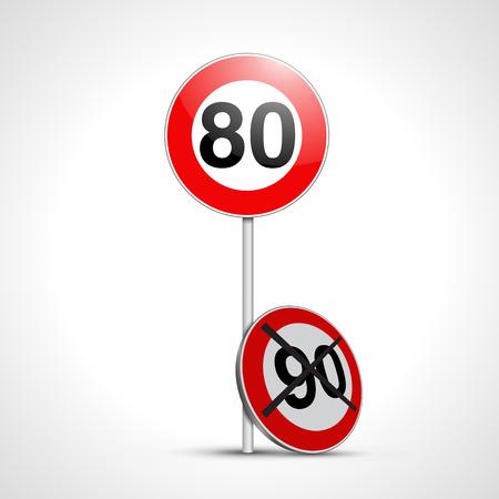 Signo francés 80 que reemplaza a 90