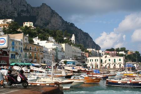 イタリア。カプリ島 写真素材
