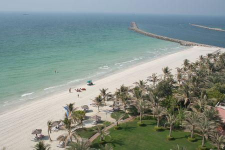 アラブ首長国連邦。ドバイ。ジュメイラ ビーチ
