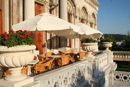 Turkey. Istanbul. Cafe Stock Photo - 2106328
