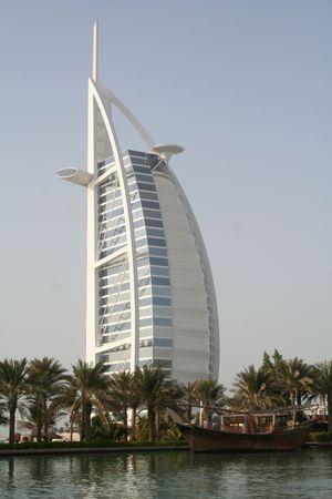 UAE. Dubai. Jumeira. Hotel, Burj al-arab