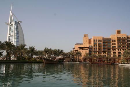 アラブ首長国連邦。ドバイ。ジュメイラ。ホテル
