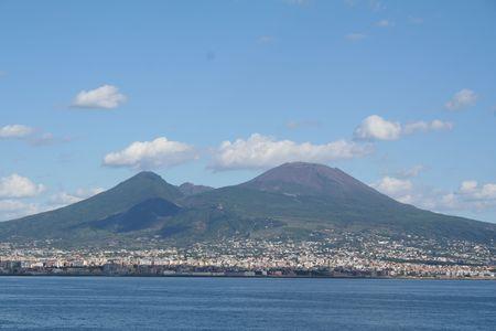 Italy. Vesuvius volcano