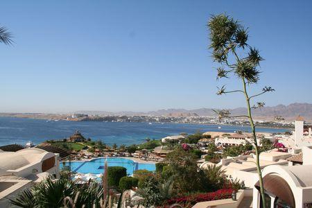 Egypt. A resort Sharm Al Sheikh Stock Photo