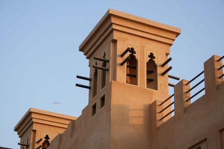UAE. Ras Al Khaimah. Al Hamra Fort hotel & beach resort Stock Photo
