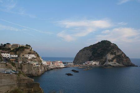 Italy. Ischia Island, Sant-Angelo Stock Photo
