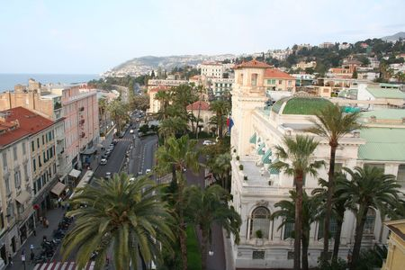 Italy. Panorama of San Remo.  photo