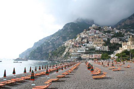 Italy. Positano beach. Stock Photo - 3148586