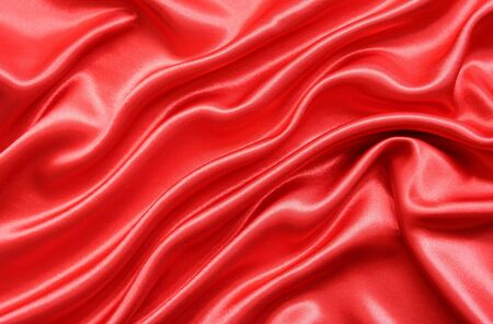 Smooth Red Silk can use as background photo