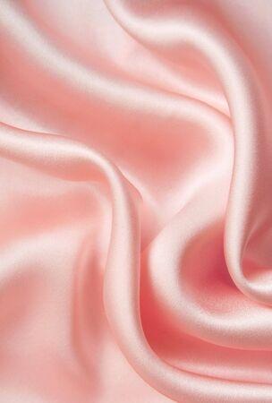 Elegant pink silk can use as wedding background photo