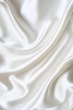 Smooth elegant white silk can use as background photo