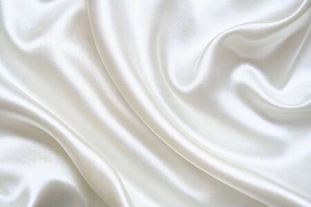 reflect: Smooth elegant white silk can use as background