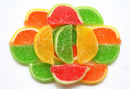 Colorful Jelly Candy can use as Background  photo