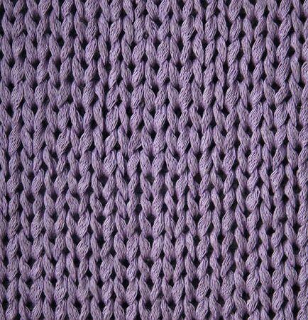 tejidos de punto: Lila tejidas con textura puede utilizar como fondo  Foto de archivo