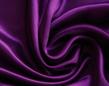 Smooth elegant lilac silk can use as background Stock Photo - 7026130