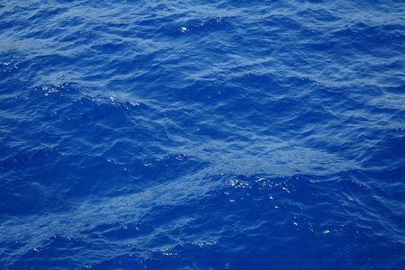 Blue sea water surface with ripple can use as background Stock Photo - 7502063