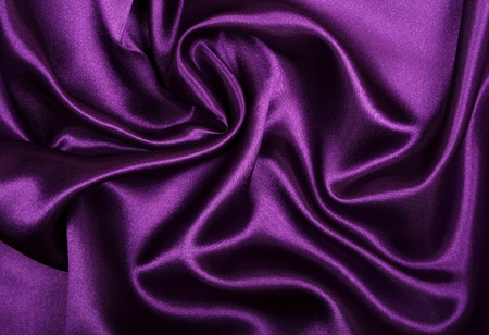 Smooth elegant lilac silk can use as background  Stock Photo