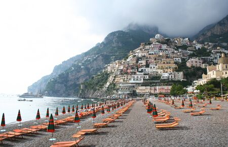 Italy. Amalfi coast. Positano beach. Stock Photo - 8533663