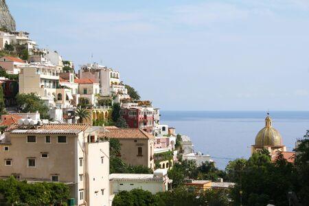 positano:  Italy. Amalfi coast. Positano  Stock Photo