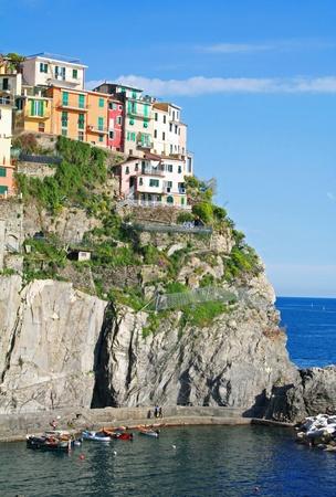 Italy. Cinque Terre. Manarola village  photo