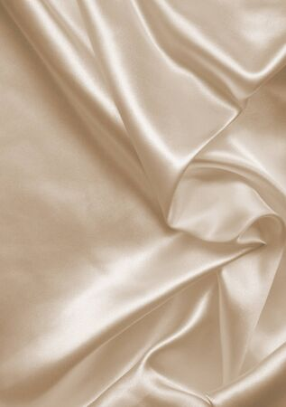 silk background: Smooth elegant golden silk can use as wedding background. In Sepia toned. Retro style