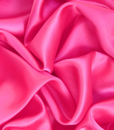 Smooth pink silk can use as background photo