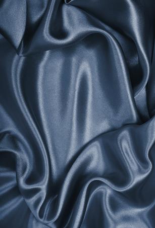 Smooth elegant grey silk can use as background Standard-Bild