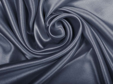 Smooth elegant grey silk or satin can use as background photo