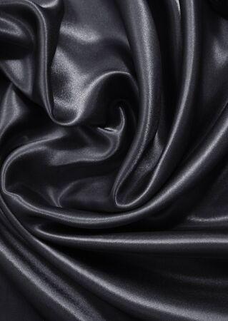 sensuous: Smooth elegant dark grey silk or satin