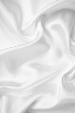 white silk: Smooth elegant white silk or satin texture