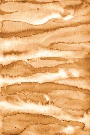 Abstract watercolor on paper texture can use as background. In Sepia toned. Retro style