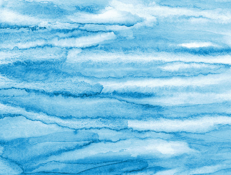 multi layered effect: Abstract watercolor background with colorful layers on paper texture