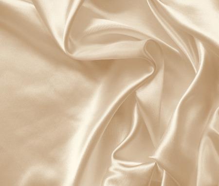 silk fabric: Elegante de seda o de satén de oro elegante puede utilizar como fondo de boda. En tonos sepia. Estilo retro