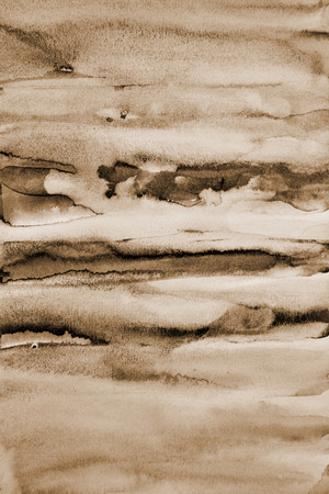 cream color: Abstract watercolor on paper texture can use as background. In Sepia toned. Retro style