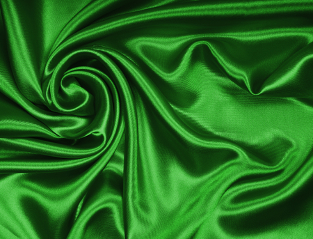 background of silk backgrounds: Smooth elegant green silk or satin texture can use as background Stock Photo