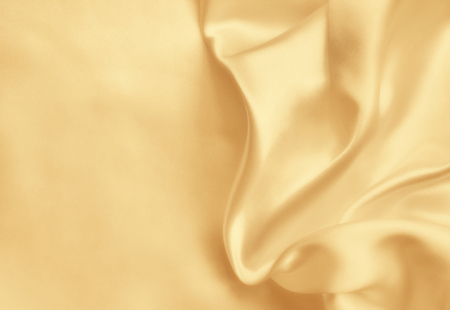 Smooth elegant golden silk can use as wedding background. In Sepia toned. Retro style 免版税图像 - 51520501
