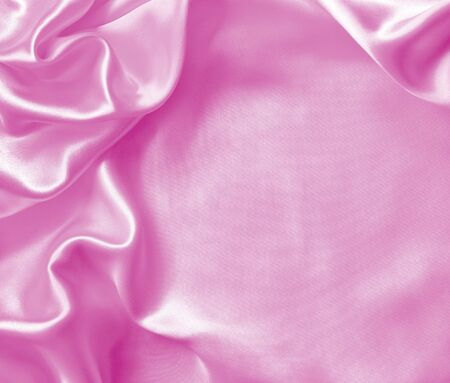 background of silk backgrounds: Smooth elegant pink silk or satin texture can use as background Stock Photo