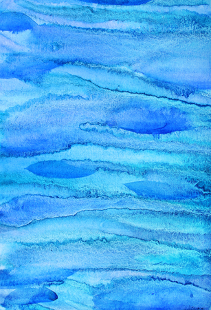 multi layered effect: Abstract watercolor background with colorful different layers on paper texture