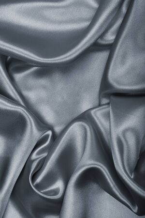 sensuous: Smooth elegant grey silk or satin can use as background