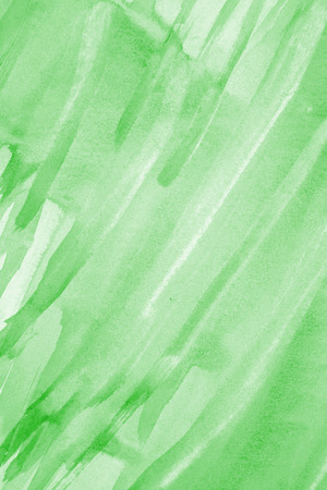 multi layered effect: Abstract green watercolor on paper texture can use as background Stock Photo