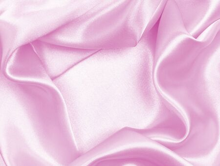 Smooth pink silk can use as background
