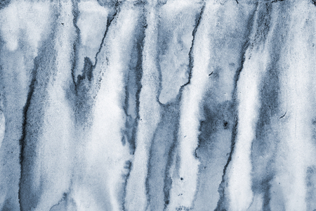 Abstract grey watercolor on paper texture can use as background Stock Photo
