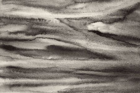 multi layered effect: Abstract watercolor on paper texture can use as background. In Sepia toned. Retro style