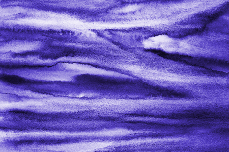 Abstract lilac watercolor on paper texture can use as background