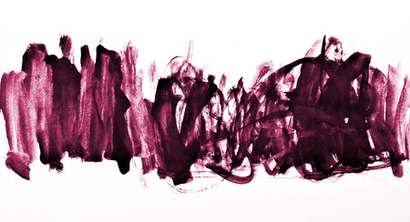 Abstract pink watercolor on paper texture can use as background