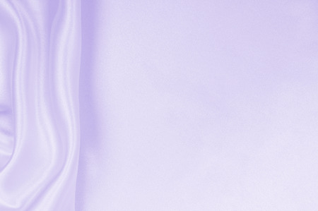Smooth elegant lilac silk or satin texture can use as wedding background. Luxurious valentine day background design Reklamní fotografie